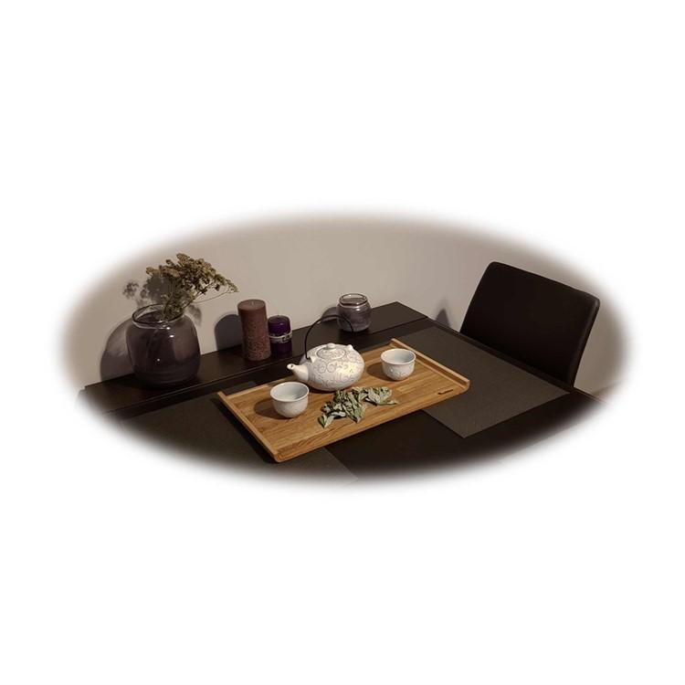 Дубовый поднос ручной работы Woodinhome ST002ON - фото 5238