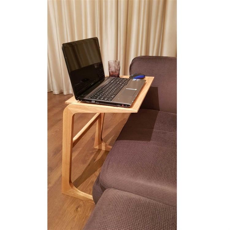 Прикроватный столик для ноутбука Woodinhome NT001ON массив дуба - фото 5457