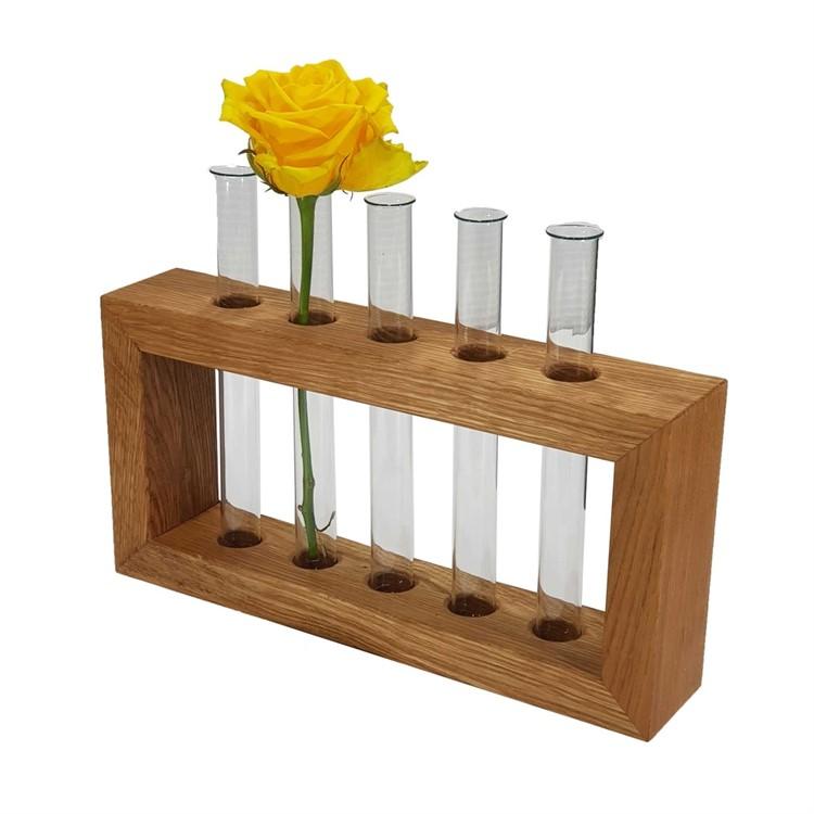 Подарочная ваза для цветов Woodinhome FV005ON - фото 5553