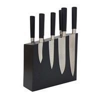 Магнитная подставка для ножей из дерева Woodinhome KS004SOBL