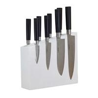 Подставка для ножей из дерева Woodinhome KS004SOWH