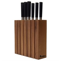 Подставка для ножей из дерева Woodinhome KS021UON