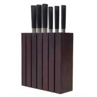 Подставка для ножей универсальная Woodinhome KS021UTWN термоясень